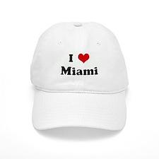 I Love Miami Baseball Cap