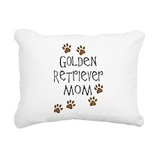 golden retriever mom.png Rectangular Canvas Pillow