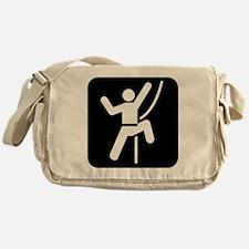 Rock Climbing Park Symbol Messenger Bag