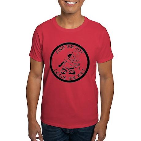 Naughty Fireman Dark T-Shirt
