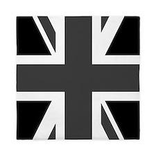 Union Jack: Black & White Queen Duvet