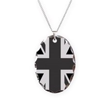 Union Jack: Black & White Necklace