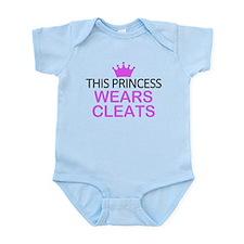 Cute Hockey princess Infant Bodysuit