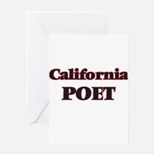 California Poet Greeting Cards