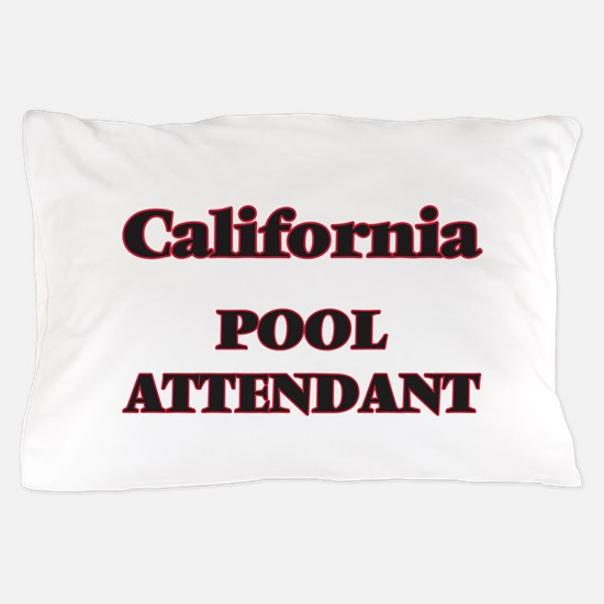 California Pool Attendant Pillow Case