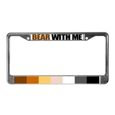 Unique Furry License Plate Frame