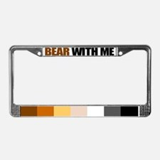 Gay bear pride License Plate Frame