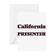 California Presenter Greeting Cards