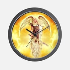 angel michael Wall Clock