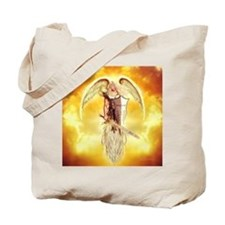 angel michael Tote Bag