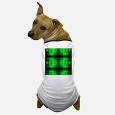 tribal neon green batik Dog T-Shirt
