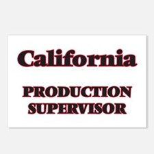California Production Sup Postcards (Package of 8)