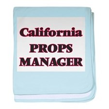 California Props Manager baby blanket
