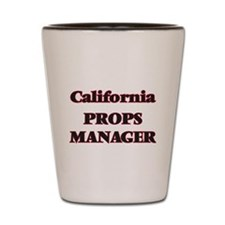 California Props Manager Shot Glass