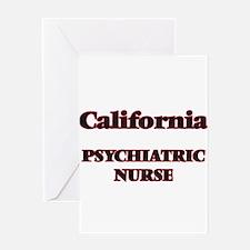 California Psychiatric Nurse Greeting Cards