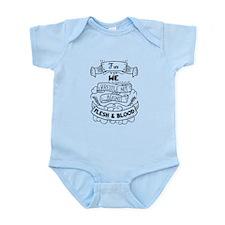 For we wrestle not... Infant Bodysuit