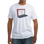 Mister Internet Fitted T-Shirt