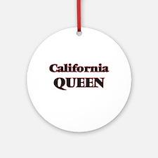 California Queen Round Ornament