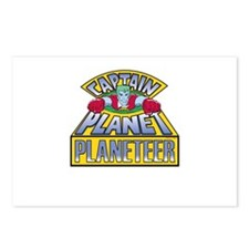 Cute Captainplanettv Postcards (Package of 8)