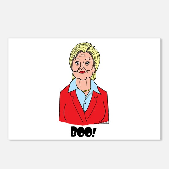 Scary Hillary Postcards (Package of 8)