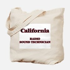 California Radio Sound Technician Tote Bag