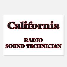 California Radio Sound Te Postcards (Package of 8)