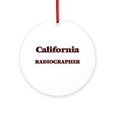California Radiographer Round Ornament