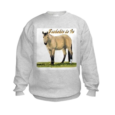 Buckskin is In Kids Sweatshirt