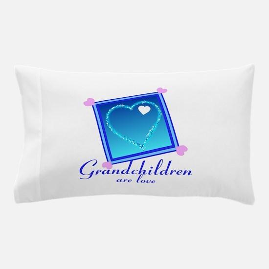Customize Grandchildren Pillow Case