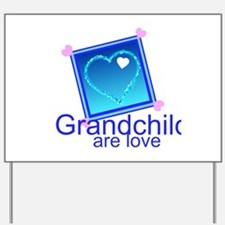 Customize Grandchildren Yard Sign