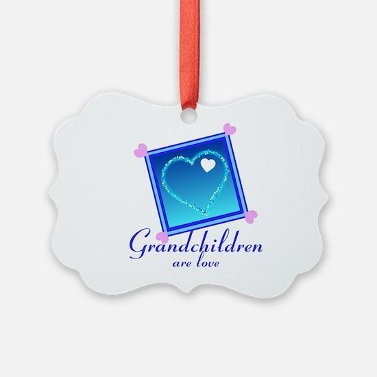 Customize Grandchildren Ornament