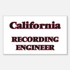 California Recording Engineer Decal