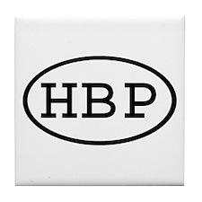 HBP Oval Tile Coaster