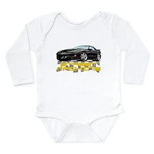 Cute Pontiac Long Sleeve Infant Bodysuit