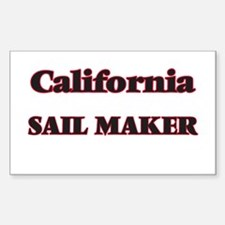 California Sail Maker Decal