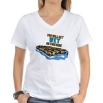 You Will Get Wet on This Ride Women's V-Neck T