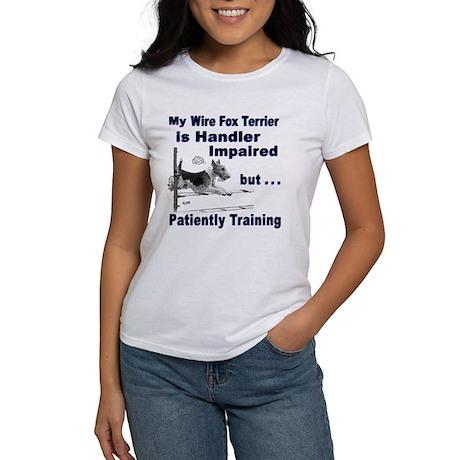 Wire Fox Terrier Agility Women's T-Shirt