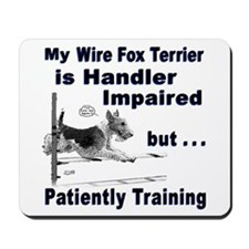 Wire Fox Terrier Agility Mousepad