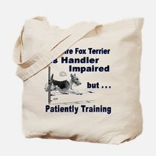 Wire Fox Terrier Agility Tote Bag
