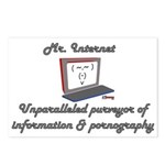 Mr. Internet - Porn and Info. - Postcards (Package