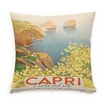 Isola Capri Vintage Everyday Pillow
