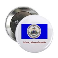 Salem MA Flag Button