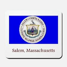 Salem MA Flag Mousepad