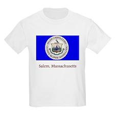 Salem MA Flag T-Shirt