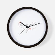 Unique Same sex Wall Clock