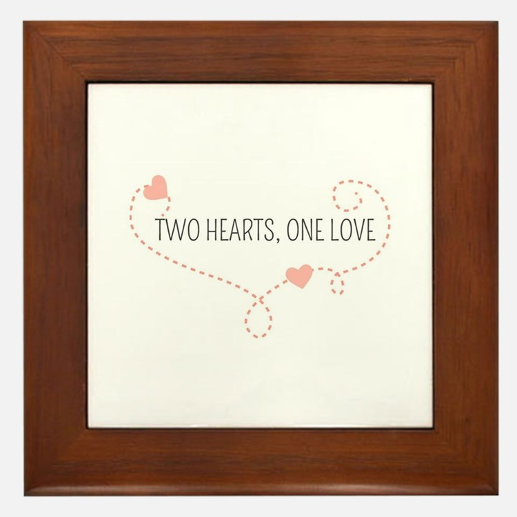 Cute Same sex marriage Framed Tile