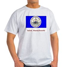 Salem MA Flag T-Shirt