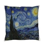 The Starry Night Everyday Pillow