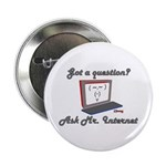 "Ask Mr. Internet 2.25"" Button (10 pack)"