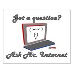 Ask Mr. Internet Small Poster